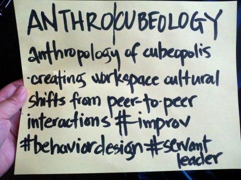 AIN anthrocubeology