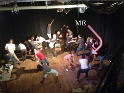 At an April 2014 improv jam
