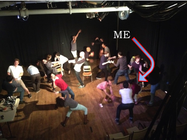 From an April 2014 improv jam hosted by SF improv troupe Other People's Children