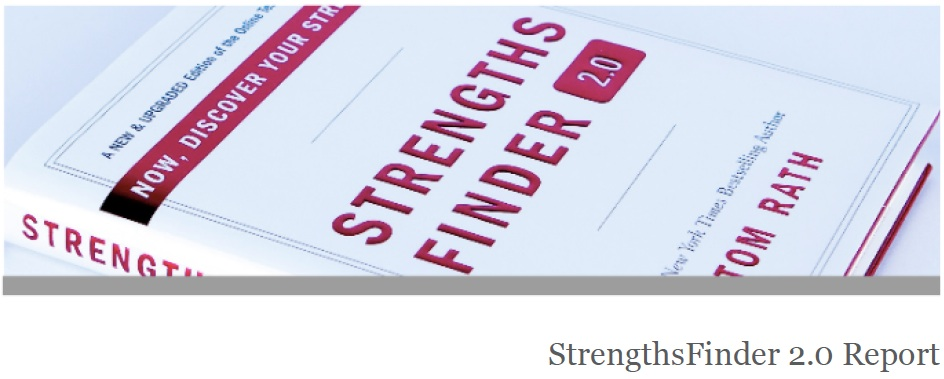 my top five strengths according to the strengthsfinder assessment